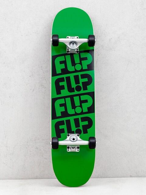 Flip Team Quattro Skateboard (odyssey green)