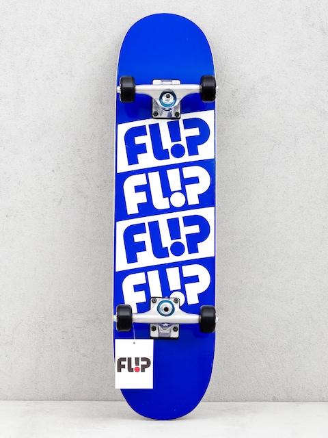 Flip Team Quattro Skateboard (odyssey blue)