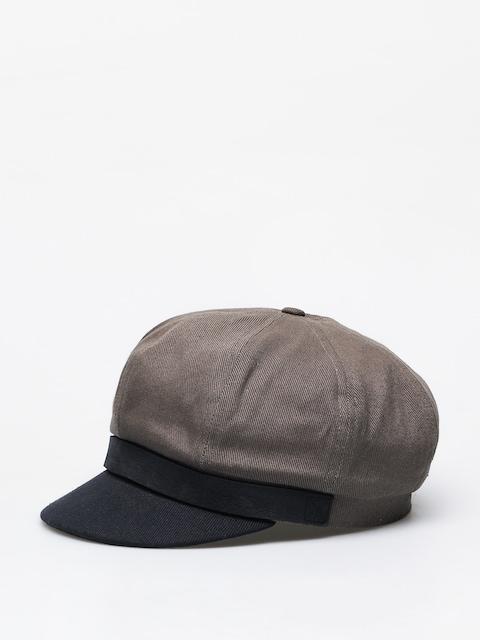 Brixton Bosmanka Montreal Flat cap (charcoal)
