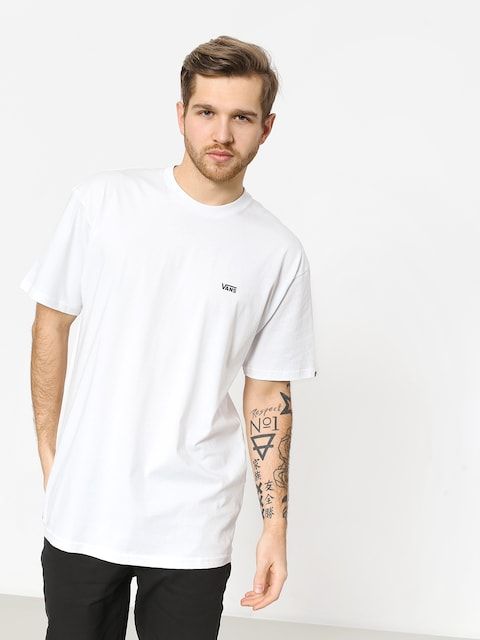 Vans Left Chest Logo T-shirt (white/black)