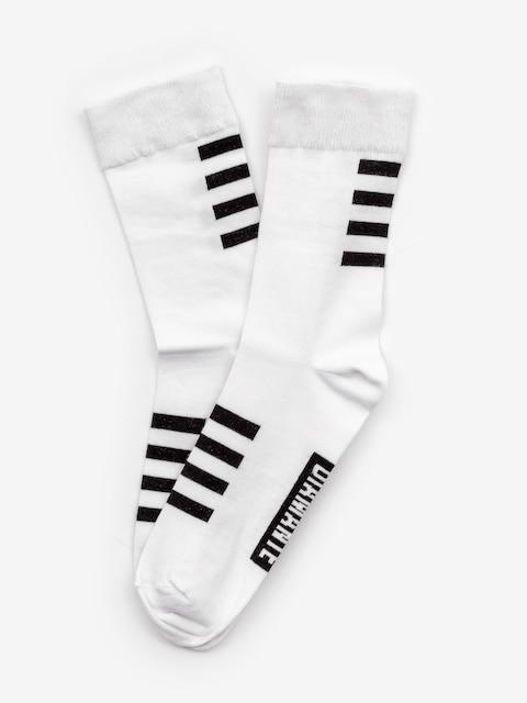 Diamante Wear Long 2 Socks (white)
