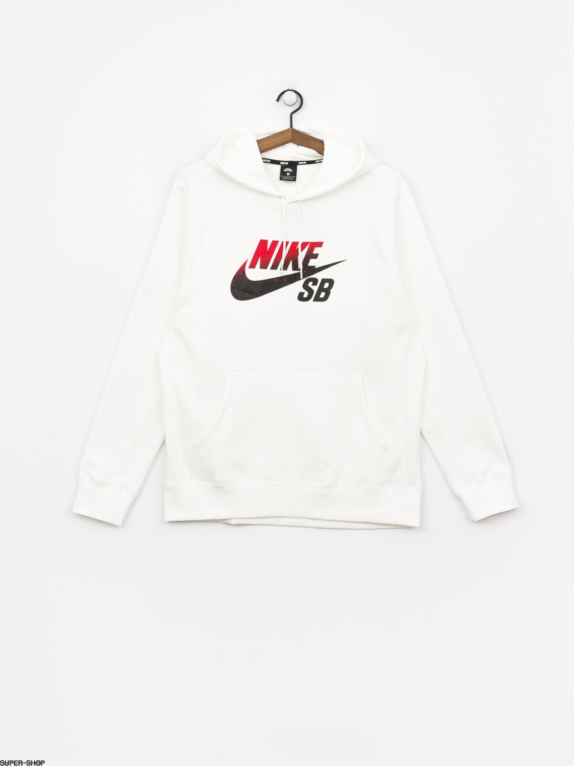 Nike SB Sb Icon Nba HD Hoodie (whiteuniversity red)