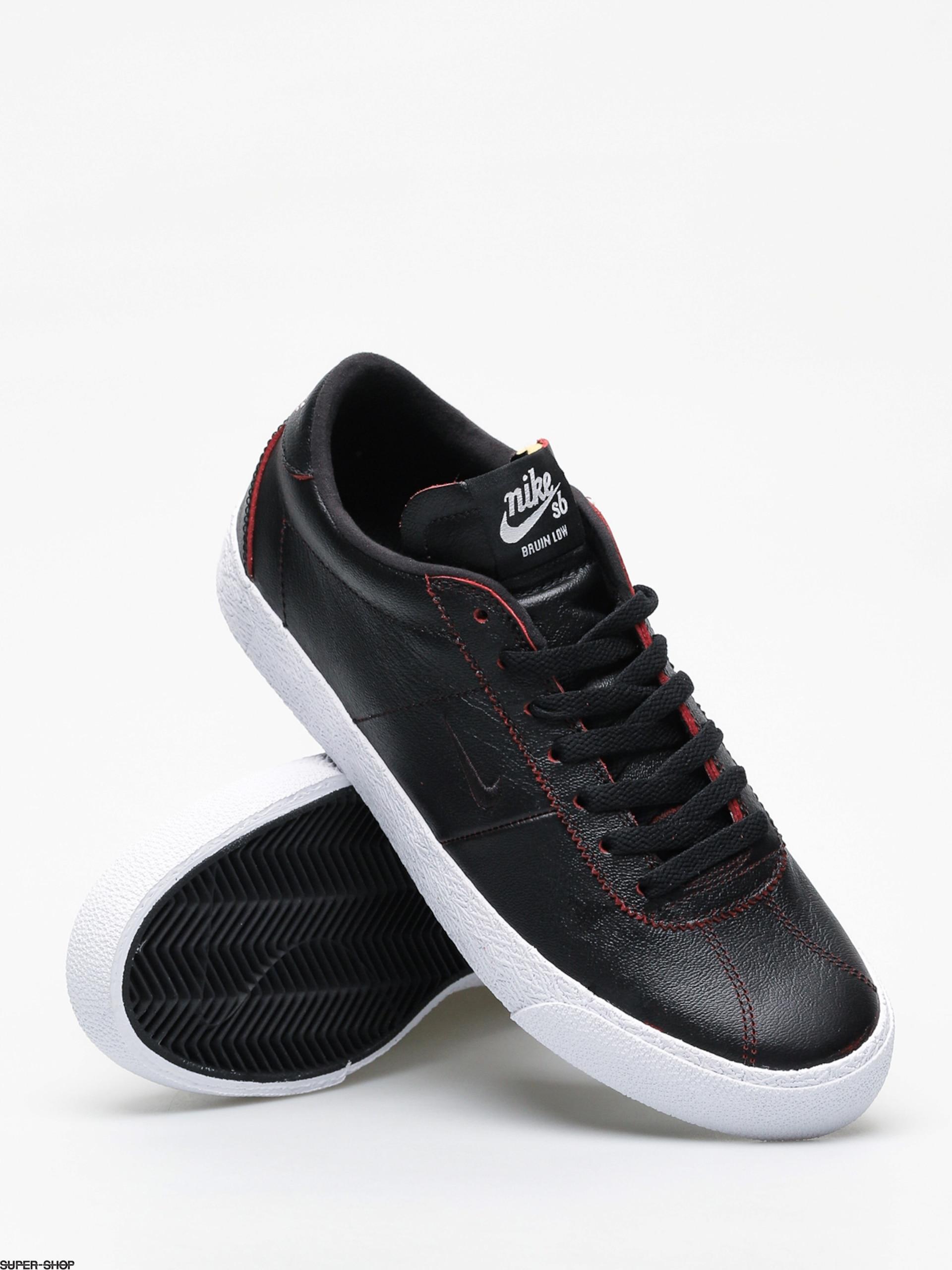 48b550e29e35c Nike SB Zoom Bruin Ultra Nba Shoes (black black university red)