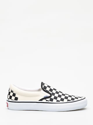 Vans Slip On Pro Shoes (checkerboard/black/white)