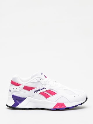 Reebok Aztrek Shoes (white/rose/cobalt/pu)