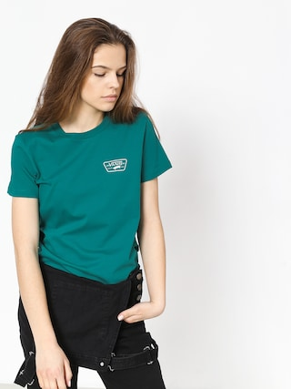 Vans Full Patch Crew T-shirt Wmn (quetzal)