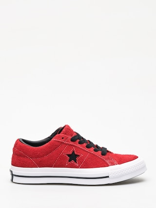 Converse One Star Ox Chucks (enamel red/black/white)