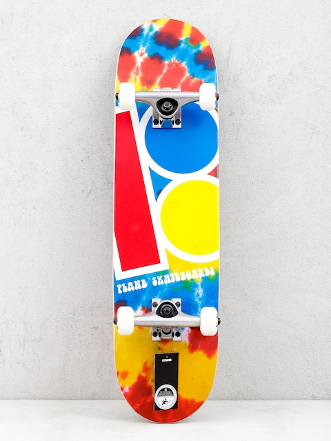 Plan B Team Tie Dyed Skateboard (multi)