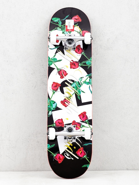 DGK Encore Skateboard (black/white)