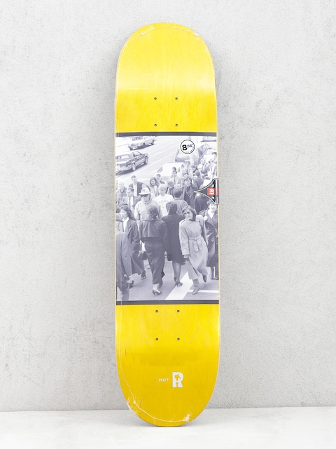 Real Brd Huf Standout Deck (yellow)
