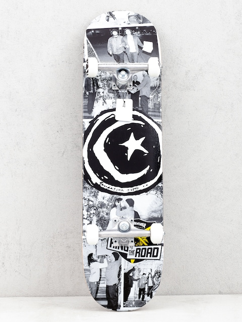Foundation Kotr Wedding Skateboard (black/white)