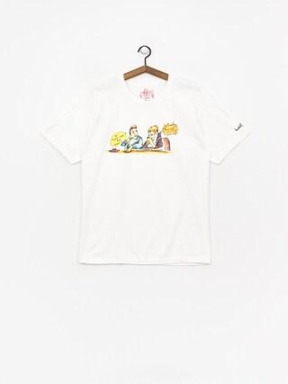 Krooked Smoking T-shirt (white)