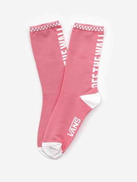 Vans 1Pk Ticker Socks Wmn (strawberry pink)