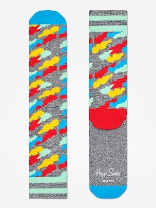 Happy Socks Athletic Cloud Socks (heather grey/blue/multi)