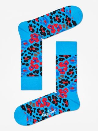 Happy Socks Leopard Socks (blue/red/black)