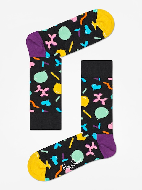 Happy Socks Balloon Animal Socks (black/multi)