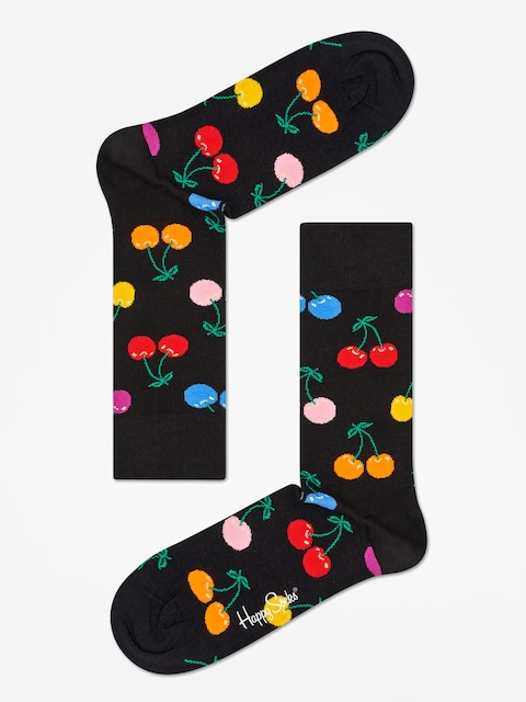 Happy Socks Cherry Socks (black/multi)