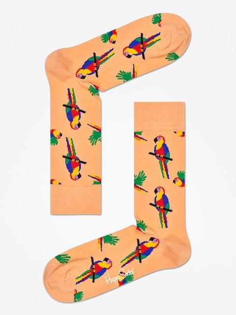 Happy Socks Parrot Socks (coral)