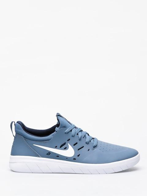 Nike SB Nyjah Free Shoes (thunderstorm/white obsidian)