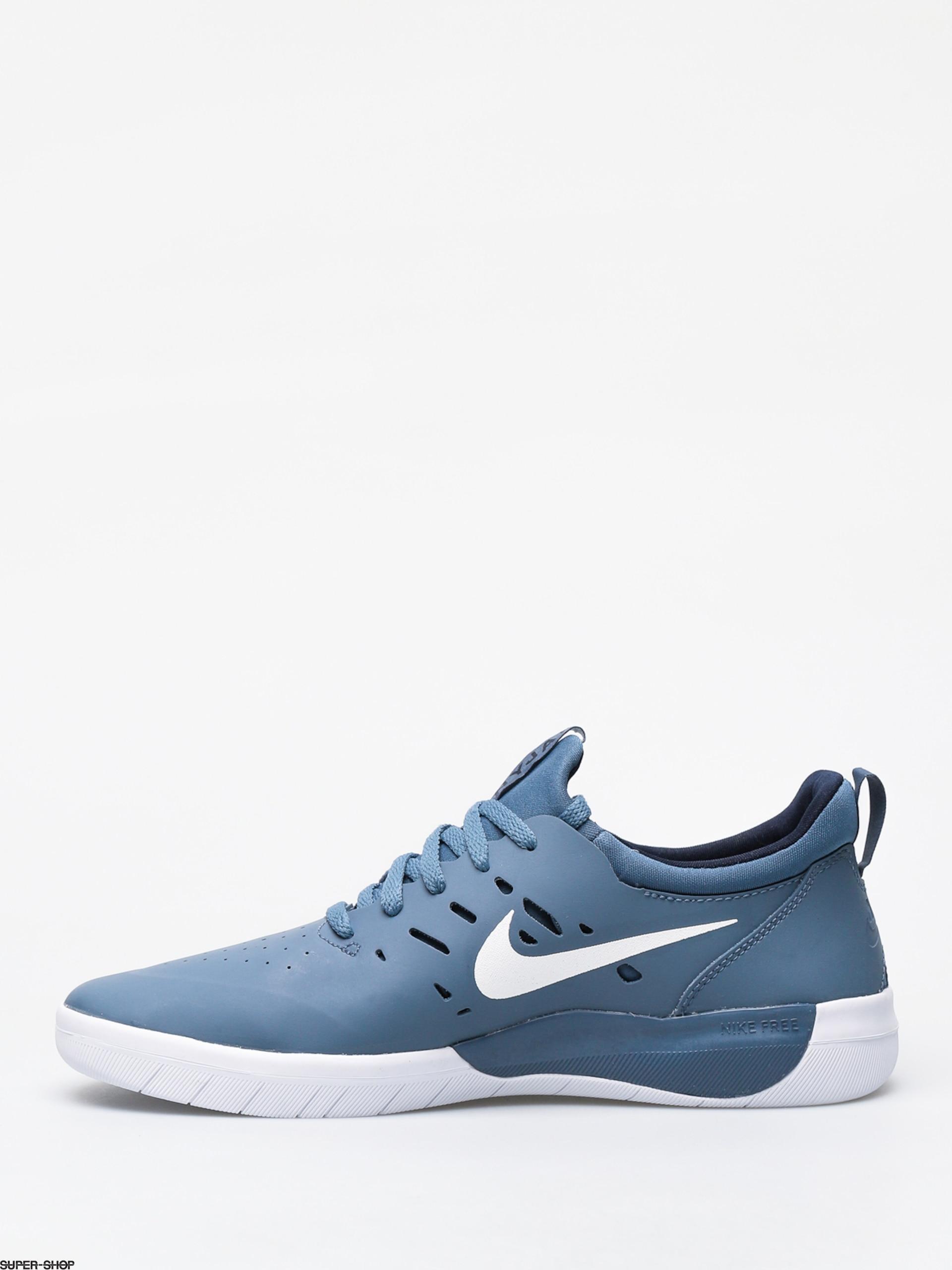 bf1c7a6d Nike SB Nyjah Free Shoes (thunderstorm/white obsidian)