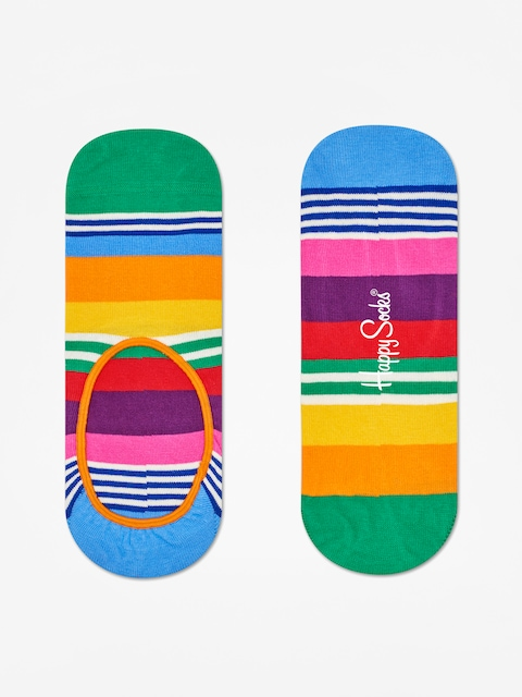 Happy Socks Stripe Liner Low Socks (multi)