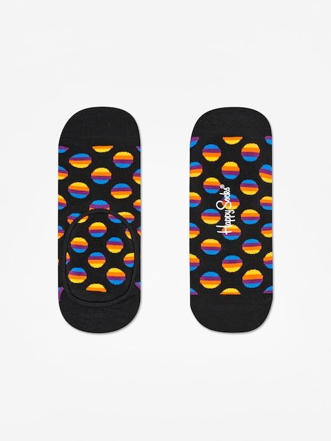 Happy Socks Sunrise Dot Liner Low Socks (black/multi)