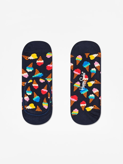 Happy Socks Icecream Liner Low Socks (black/multi)