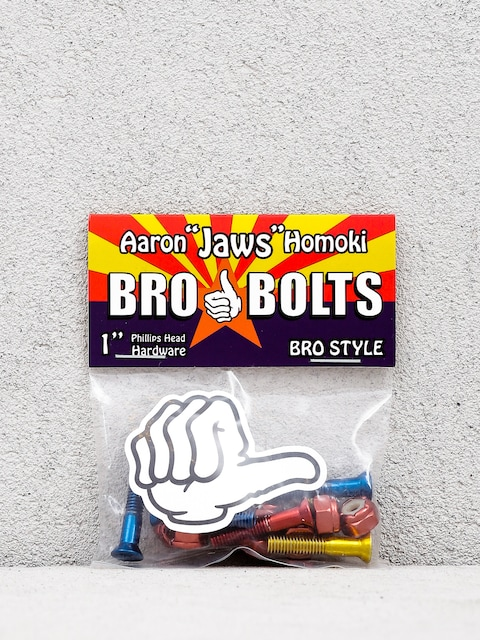Bro Style Aaron Jaws Homoki Phillips Bolts (red/blue/yellow)