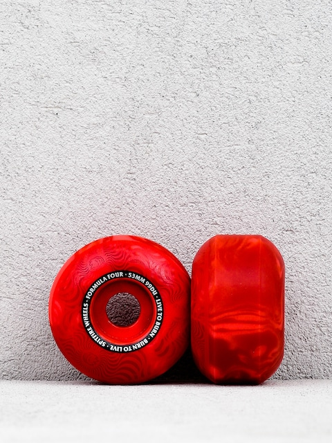 Spitfire F44 99 Multi Swirl Clssc Wheels (red)