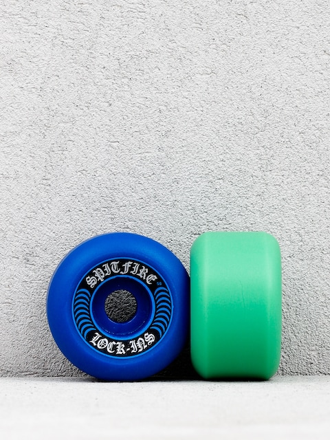 Spitfire F4 99 Lockin Mashup Wheels (blue/teal)