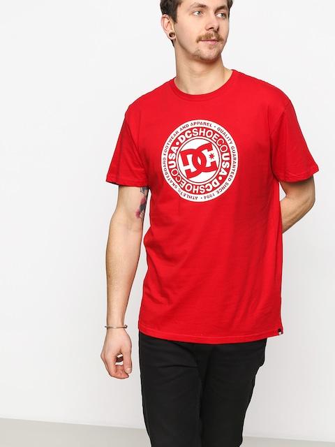 DC Circle Star T-shirt (racing red)