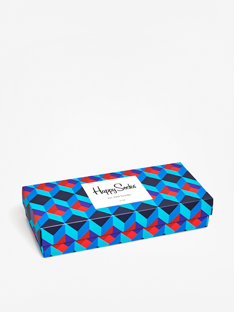 Happy Socks Giftbox 4Pk Nautical Socks (multi)
