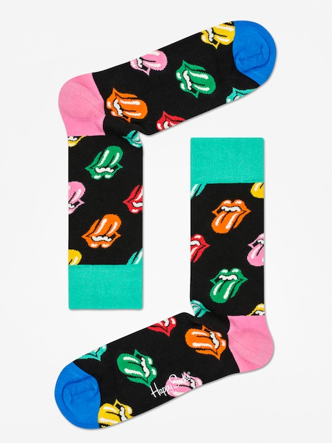 Happy Socks Rolling Stones Socks (black/multi)