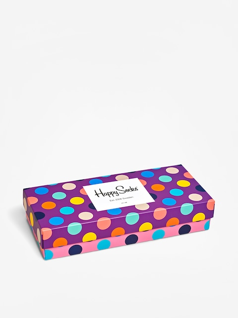 Happy Socks Giftbox 4Pk Dot Socks (multi)