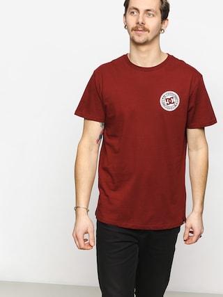 DC Circle Star T-shirt (pomegrenate)