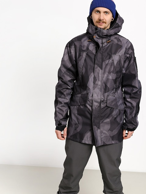 ThirtyTwo Deep Creek Snowboard jacket (black/camo)