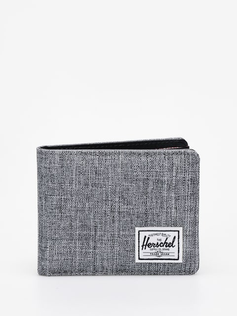 Herschel Supply Co. Hank Rfid Wallet (raven crosshatch)