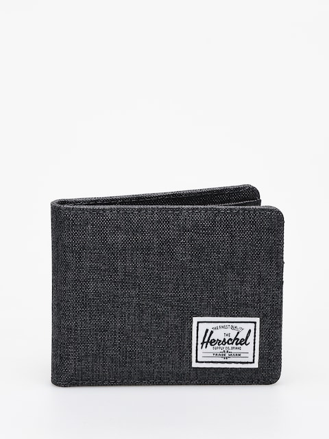 Herschel Supply Co. Roy Coin Rfid Wallet (black crosshatch)