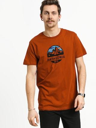 Patagonia Fitz Roy Scope Organic T-shirt (copper ore)
