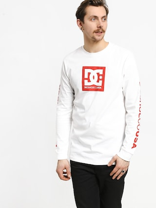 DC Square Star Ls 2 Longsleeve (snow white)