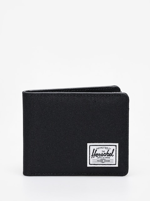 Herschel Supply Co. Wallet Hank Rfid (black/black synthetic leather)