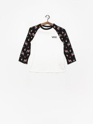d2756dff97a ... Vans Satin Floral Raglan T-shirt Wmn (black satin florral)