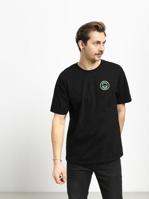 Spitfire Retro Classic T-shirt (black/glow)