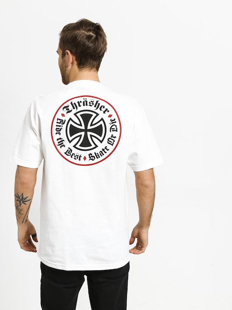 Independent Thrasher Oath T-shirt (white)