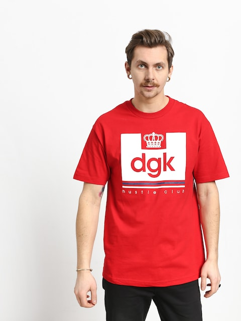 DGK Hustle Club T-shirt (red)