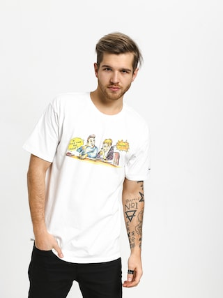 Krooked Smoking T-shirt (white)