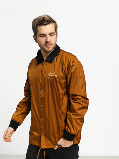 Krooked Smokng Spclty Jacket (brown/pld)