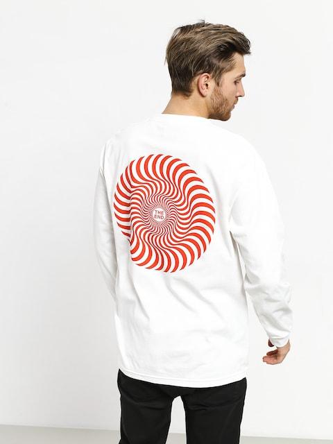 Spitfire Classic Swirl Longsleeve (white/red)