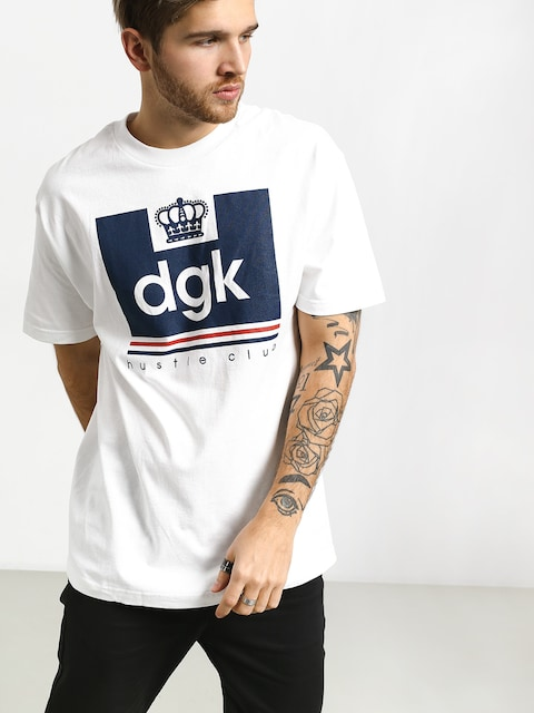 DGK Hustle Club T-shirt (white)