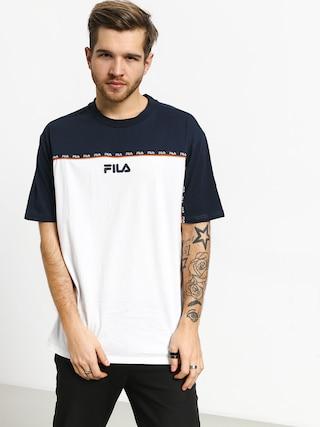 Fila Dragster T-shirt (black iris/bright white)